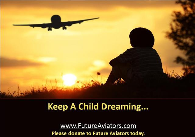 Future Aviators Ad - Keep A Child Dreaming Ad - 01-11-14